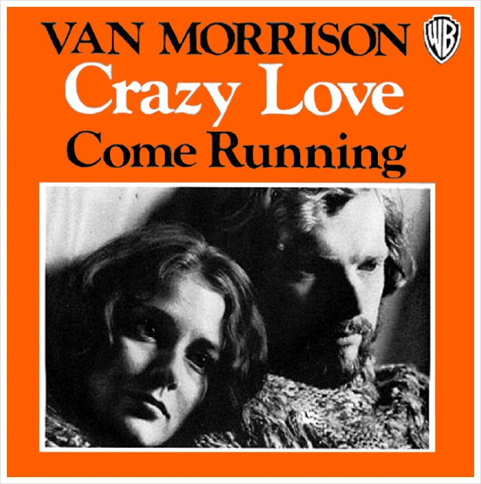Image result for come running van morrison single images